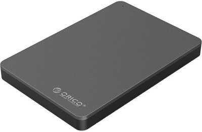 Orico Elegant Aluminum Top 2.5 Inch SATA USB3.0 Hard Disk Enclosure Tool MD25U3 2.5 inch SATA Type(For Windows, Linux,Mac,iOS, Black)