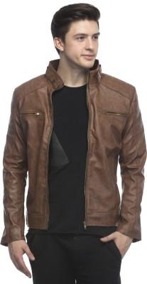 Fashion Gallery Full Sleeve Solid Men's Jacket at flipkart