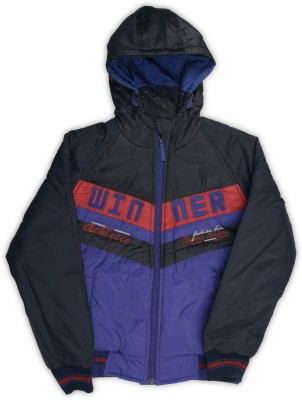Fort Collins Full Sleeve Solid Boys Jacket