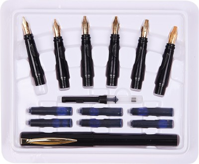 Atlas 22 Carat Gold Plated Nibs and Pen Set for Calligraphy  available at flipkart for Rs.350