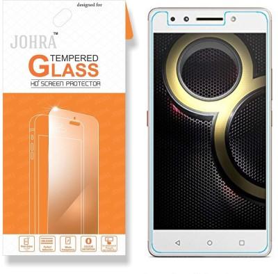 Johra Tempered Glass Guard for Lenovo K8 Note(Pack of 1)