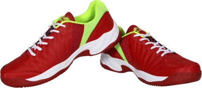 Nivia Rapid Tennis Shoes For Men(Red)  available at flipkart for Rs.1179
