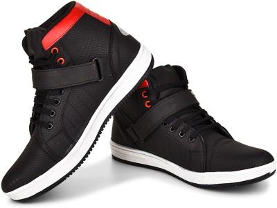 Essence Black Money Boots For Men(Red, Black)