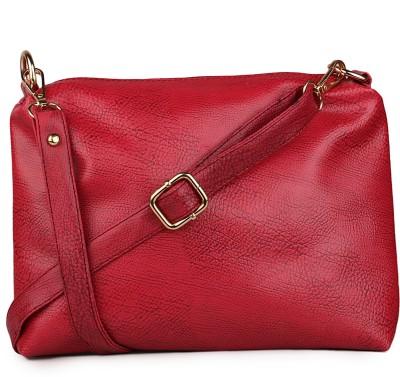 Classic Fashion Sling Bag(Maroon) at flipkart