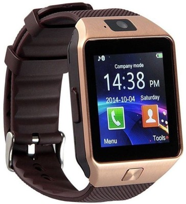 Estar Micromax Bolt A064 Compatible Smartwatch(Brown Strap Regular)  available at flipkart for Rs.1799