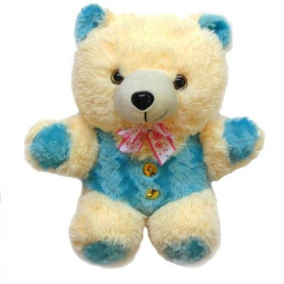 Aparnas Cute looking teddybear stuffed soft plush toy for kids love girl 3feet   90 cm Beige, Blue