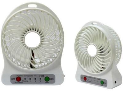 Prro Rechargeable Usb Mini Fan JHPB 42 USB Air Freshener White Prro Mobile Accessories