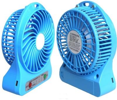Prro Rechargeable Usb Mini Fan JHPB 04 USB Air Freshener Blue