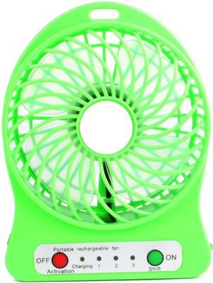 Prro Rechargeable Usb Mini Fan JHPB 28 USB Air Freshener Green Prro Mobile Accessories