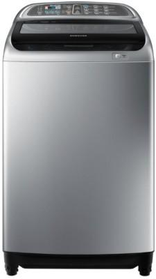 Samsung 9 kg Fully Automatic Top Load Washing Machine Silver, Black(WA90J5730SS/TL) at flipkart