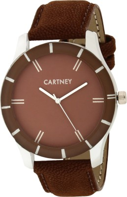 Cartney CTYBRN44 Brown Watch  - For Men   Watches  (cartney)