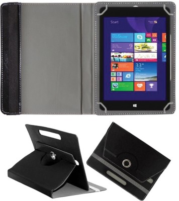 Fastway Book Cover for Alcatel OneTouch Pixi3 10 Tablet(Black, Cases with Holder)