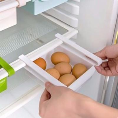 Sapro Multifuction Plastic Kitchen Refrigerator Storage Rack Fridge Shelf tray Plastic Kitchen Rack(White)  available at flipkart for Rs.179