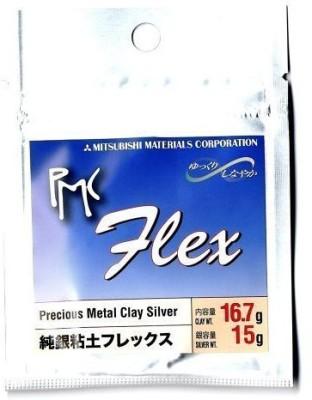 Mitsubishi Pmc Flex Metal Clay Silver 15Gram (Japan Import)