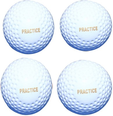 Parbat HOCKEY BALL Hockey Ball -   Size: Standard(Pack of 4, White)