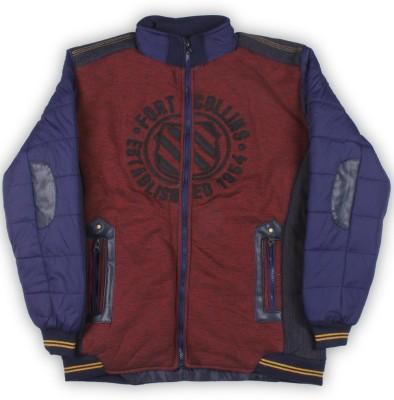 Fort Collins Full Sleeve Self Design Boys Jacket