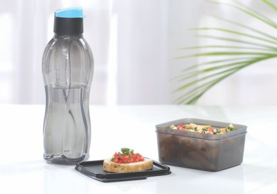 Tupperware xtreme set 2 Containers Lunch Box(500 ml)  available at flipkart for Rs.285