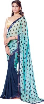 28491afbf3087 Ratnavati Embellished Bollywood Georgette Saree(Blue