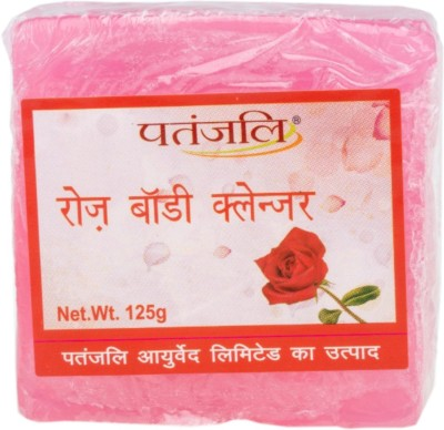 Patanjali Rose Body Cleanser Soap(125 g)
