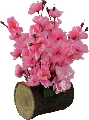 419e1afd934e3 The Fancy Mart Artificial Blossom Flowers ( 12 inch   30 CMS) in Wood Buckle