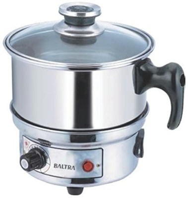 Baltra Glare BTC - 101 Travel Cooker(0.5 L, Silver)  available at flipkart for Rs.1270