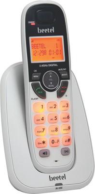 beetel X70 Cordless Landline Phone(White)  available at flipkart for Rs.1590