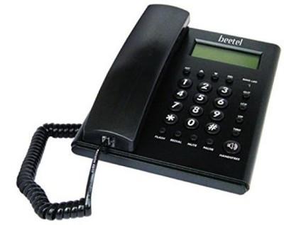 Beetel BEETEL-M52 Cordless Landline Phone(Black)  available at flipkart for Rs.848