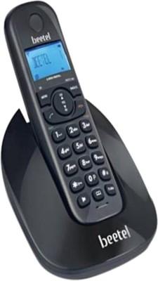 Beetel BT-X69 Cordless Landline Phone(Black)  available at flipkart for Rs.1999