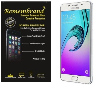 Remembrand Tempered Glass Guard for Samsung Galaxy A7 6, SM A710F Pack of 1