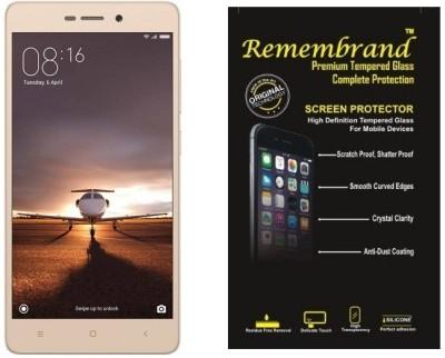 Remembrand Tempered Glass Guard for Mi Redmi 3S, Mi Redmi 3S Prime