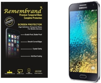 Remembrand Tempered Glass Guard for Samsung Galaxy E5, E500H