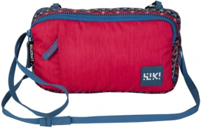 Wiki by Wildcraft Wristlet M Pink Small Travel Bag(Pink)  available at flipkart for Rs.699