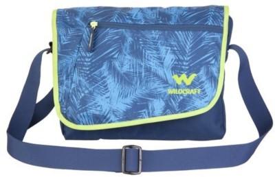 Wildcraft Messenger Dc Blue Small Travel Bag(Blue)
