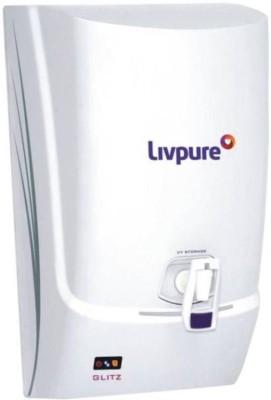 Livpure Glitz Plus 7L RO+UF Water Purifier (White)