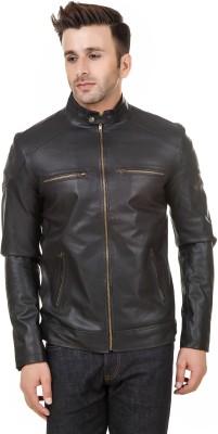 Rocker Fashions Full Sleeve Solid Men Jacket at flipkart