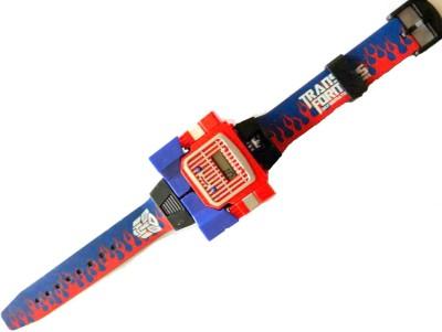 VShine Transformer Action Figure Wrist band Optimus Prime for Kids(Blue)  available at flipkart for Rs.149