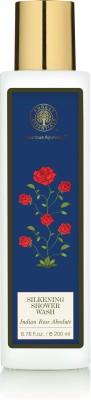 Forest Essentials Indian Rose Absolute Silkening Shower Wash, 200 ML