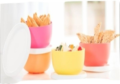 Tupperware Blossom bowls Plastic Bowl Set(Multicolor, Pack of 4)  available at flipkart for Rs.631
