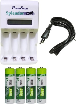 Power Smart Splendor PS346 4x2100 mAh Camera Battery Charger White Power Smart Battery chargers