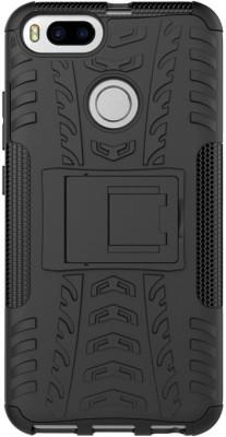 Flipkart SmartBuy Back Cover for Mi A1 Black, Shock Proof