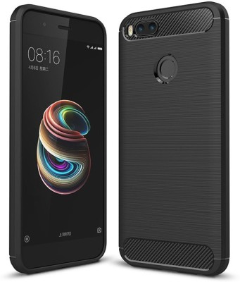 Vascase Back Cover for Mi A1(Multicolor, Dual Protection, Silicon)
