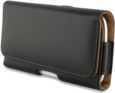 Your Deal Pouch for Nexian NV-45(Black, Artificial Leather)