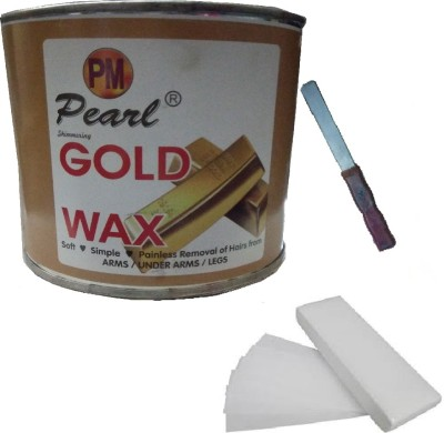 DDH Gold Wax With 90 Stripes and Applicator(Set of 3)