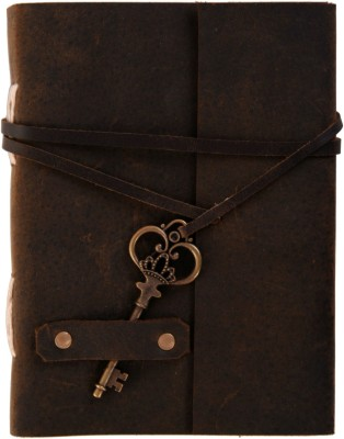 Craft Play Handmade Diary A5 Diary Unruled 144 Pages(Brown)