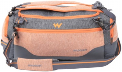 Wildcraft Venturer Orange (Expandable) Travel Duffel Bag(Orange)