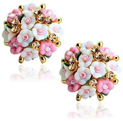 Shimmer Divine Luxuria Cubic Zirconia Alloy Stud Earring Shimmer Divine Earrings
