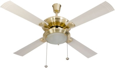Usha Fontana One 1270 Gold Ivory 4 Blade Ceiling Fan(Gold)  available at flipkart for Rs.6699