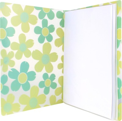 TRANBO PLastic Clear Book File Folder Display Presentation Book, 60 Pocket, A4 Size, Green(Set Of 1, Green)  available at flipkart for Rs.299