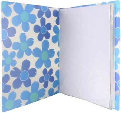 TRANBO Polypropylene Clear Book File Folder Display Presentation Book(Set Of 1, Blue)  available at flipkart for Rs.329