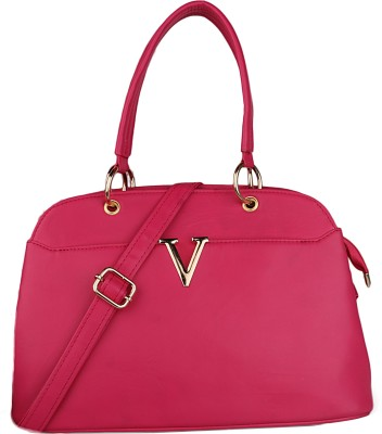 Arfafashions Women Pink Hand-held Bag at flipkart